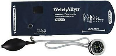 Welch Allyn DS45-11 Gauge with Durable One Piece, Adult Cuff.