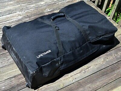 Lifetimer LT-1000 Rolling CARRYING CASE for Portable Chiropractic Table MASSAGE