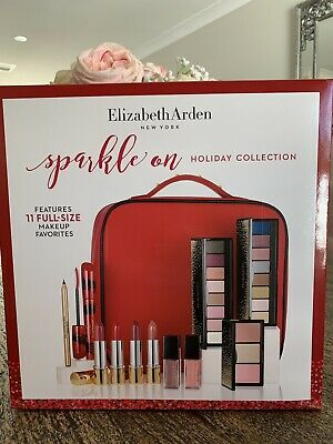 Elizabeth Arden 'Sparkle On ' Holiday Makeup Collection/ Set! BRAND NEW IN BOX