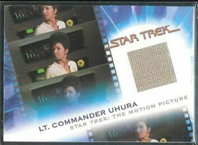 Complete Star Trek Movies Costume Card MC6 Lt Uhura