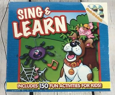 Sing & Learn - Twin Sisters Productions, (CD, 2005) 3 Kids Music CDs NEW SEALED