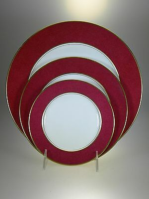 Aynsley Viceroy Dinner Plate, Salad Plate And Bread & Butter Plate