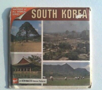 South Korea   View Master  Packet   Very Rare