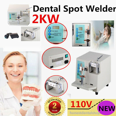 Dental Spot Welder Welding Orthodontic Teeth Repair Heat Treatment HL-WDII UPS