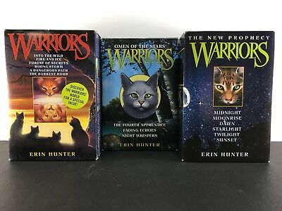 Warriors - 1-6/New Prophecy/Omen into the Stars - Book Bundle by Erin Hunter