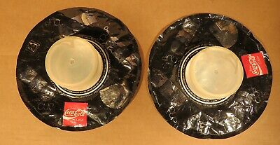 Pair of 1980s Novelty 34 Ounce 7-11 Coca-Cola Expanding Cup Inotec Corp