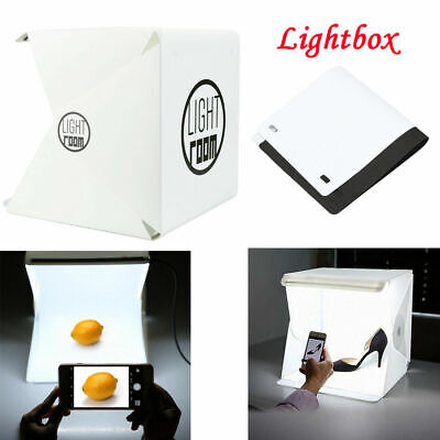 Mini Light Room Photo Studio Photography Lighting Tent Kit Backdrop Cube Box