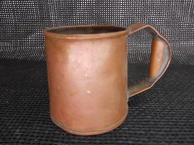 Antique hand-Crafted COPPER MOSCOW MULE MUG TANKARD STEIN Old Vtg