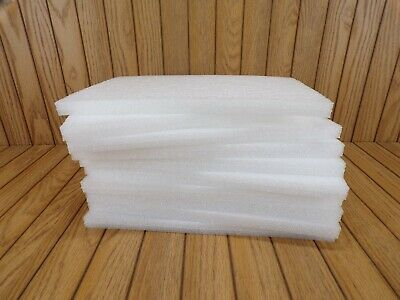 "EPE FOAM SHEETS, 4 TOTAL,12"" x 7 5/8"" x 9/16"" SIZE EACH, PACKAGING, ARTS, CRAFTS"