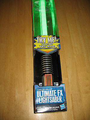 '11 Hasbro Luke Skywalker Return of the Jedi Ultimate Electronic FX Lightsaber