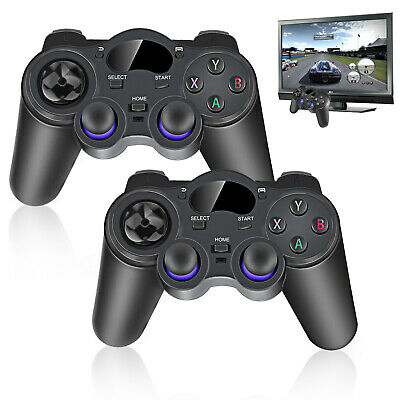 Pair 2.4G Wireless Game Controller Gamepad for Android TV Box Tablet PC Rakish