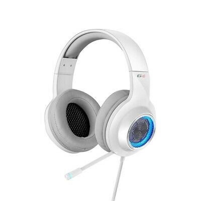 Edifier G4 V4 7.1 Virtual Surround Sound Gaming Headset White for PCs & Laptops