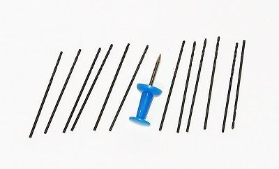 """1/32"""" High speed steel drill bits for Dremel etc, New 12Pieces"""