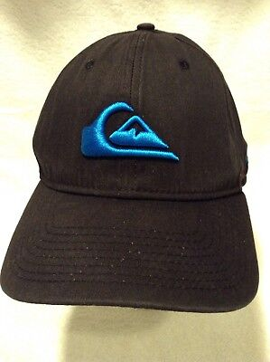 sports shoes 0929b 0e741 New Era Quiksilver Baseball Cap Hat Size M L Stretch Fit Black 39Thirty  Surfing