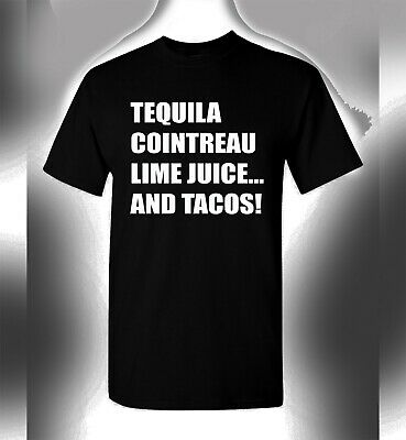 1f999d209 Cinco De Mayo T-Shirt Tequila Cointreau Lime Juice Tacos Funny Drinking Tee