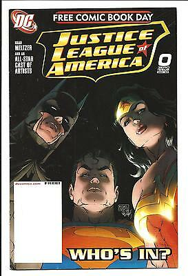 Justice League Of America # 0 (Fcbd May 2007), Vf+