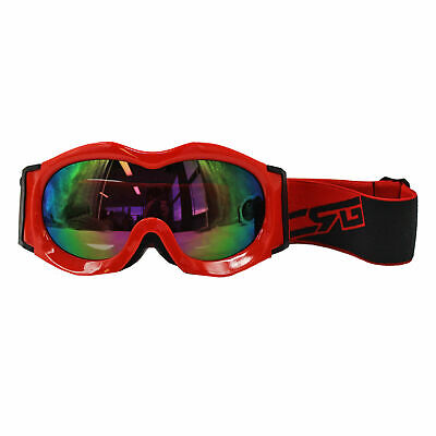 BLACK SKI SNOWBOARD GOGGLES Youth Child Kid Boy Girl Kid SNOW GOGGLES WINTER