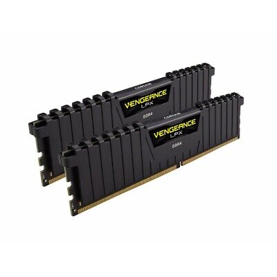Corsair 16GB (2x8GB) DDR4 3200MHz Vengeance LPX Black Heat spreader AMD RYZEN
