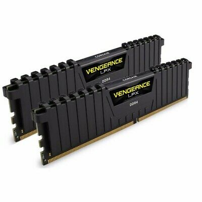 Corsair 16GB (2x8GB) DDR4 3200MHz Vengeance LPX Black Memory RAM PC