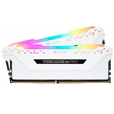 Corsair Vengeance RGB PRO 16GB (2x8GB) DDR4 2666MHz C16 Desktop Gaming Memory...