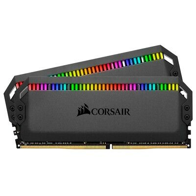 Corsair Dominator Platinum RGB 16GB (2 x 8GB) DDR4 DRAM for AMD Ryzen 3200MHz...