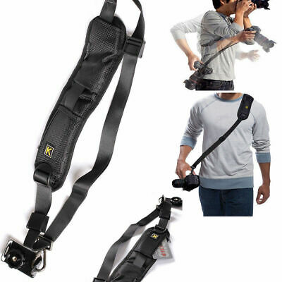 QUICK STRAP Camera Single Shoulder Belt Sling SLR DSLR Cameras Canon Sony NikonB