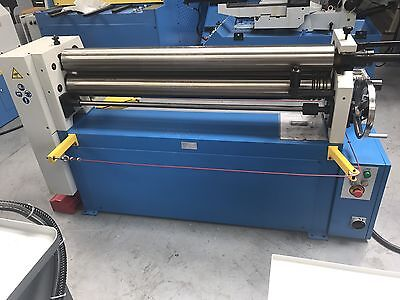 Power operated bending rolls , metal rollers 1300mm x 120mm 4.5mm capacity