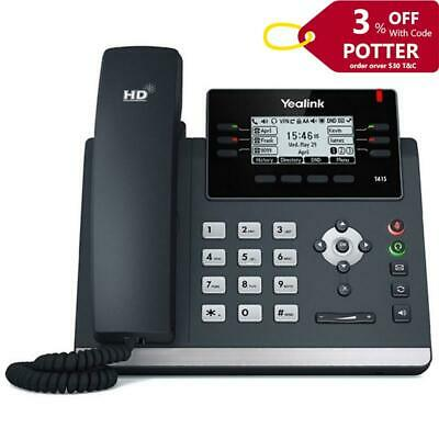 """Yealink T46S 16 Line IP Phone 4.3"""" Colour Display with Backlight 10 Program Keys"""