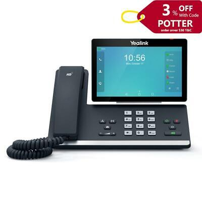 """Yealink T58A 16 Line IP HD Android Phone 7"""" Colour Touch Screen HD Voice BT/WiFi"""