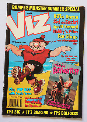 Viz Comic Issue 72 Bumper Monster Summer Special Ages 18+