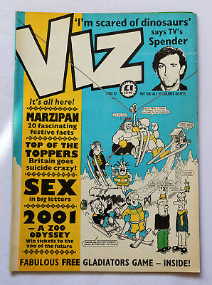 Viz Comic Issue No.57 Marzipan 20 Fascinating Facts Spender 2001 Zoo Odyssey