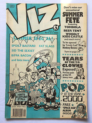 Viz Comic Issue No.49 Summer Special Tears Of The TV Clowns Exposed Pop 2000