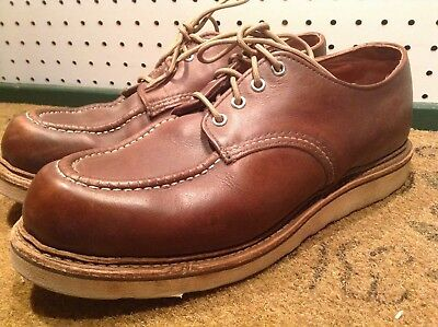 0b139b20591 Red Wing Mens Shoes 8109 Oxford Heritage Work Mahogany Brown US Made Size  11 D