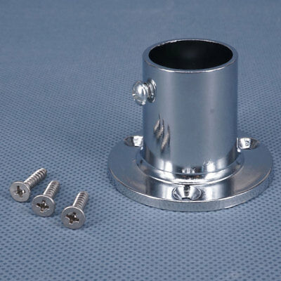 Metal Boat 90 Degree 1'' Round Stanchion Base Marine Hand Rail Fitting