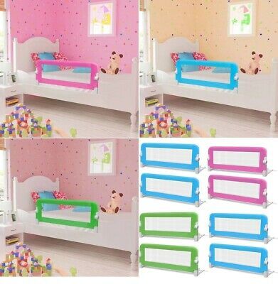 2pcs 102cm Toddler Kids Safety Bed Rail Guard Sleep Anti Fall Protection Barrier