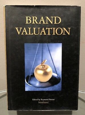 Brand Valuation Edited by Raymond Perrier Interbrand Hardback Book FREE SHIPPING