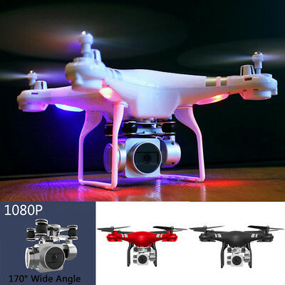 RC Quadcopter 1080P 170° Wide Angle Lens HD Camera Drone Wifi FPV Toy Kids Gift8