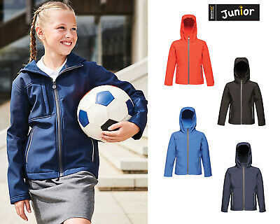 Regatta Junior Octagon 3 layer Printable and Hooded Softshell