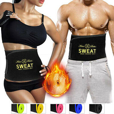 Suana HOT Sweat Premium Waist Trimmer for Men Women Sports Research Pink 3 SIZE