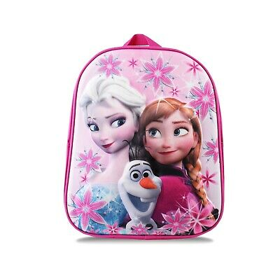 Disney - Frozen - Group - Official - Girls - Backpack - Pink - One Size