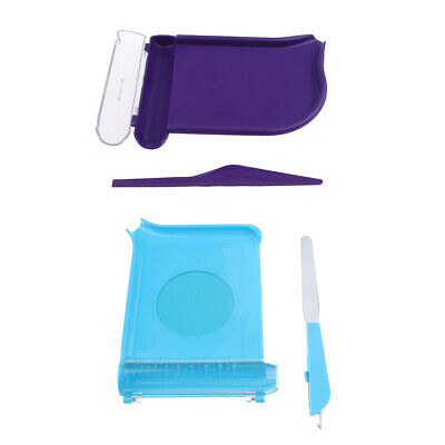 2pcs Pill Counting Tray with Spatula Pill Dispenser Counting Non-skid