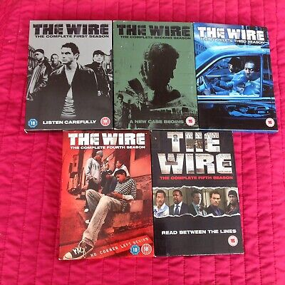 the wire season 1, 2, 3, 4 And 5