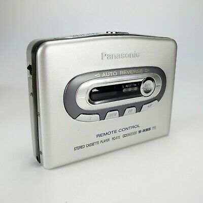 Panasonic RQ-X15 Silver Stereo Cassette Player Dolby Remote Control - New In Box