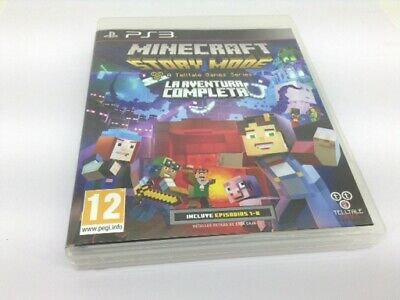 Juego Ps3 Minecraft Story Mode-The Complete Adventure Ps3 4586715