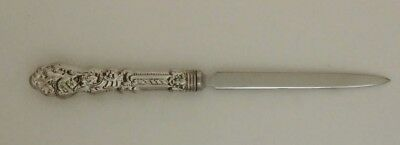 Gorham Versaille Sterling Silver Letter Opener  Sterling Handle Stainless End No