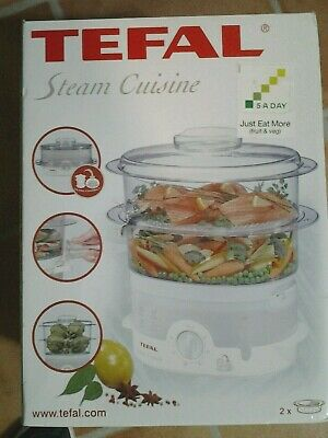 NEW Tefal Steam Cuisine Food Steamer with Instruction