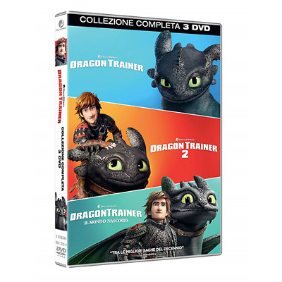 Dragon Trainer Collection 1-3 (3 Dvd)  [Dvd Nuovo]