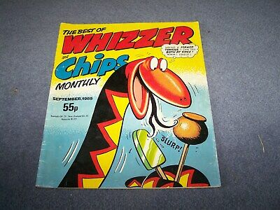 The Best of Whizzer and Chips Monthly September 1985 ~ 55p