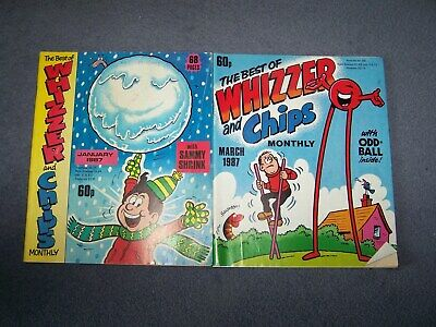 2 The Best of Whizzer & Chips Monthly January, March 1987