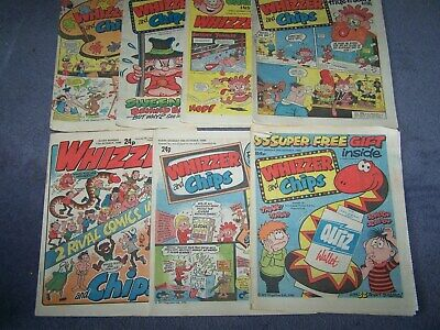 7  Whizzer & Chips 13/9, 20/9, 27/9, 4/10, 11/10, 18/10, and 25/10/1986